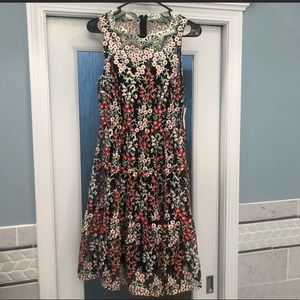 Anthropology NWT embroidered dress Size 4